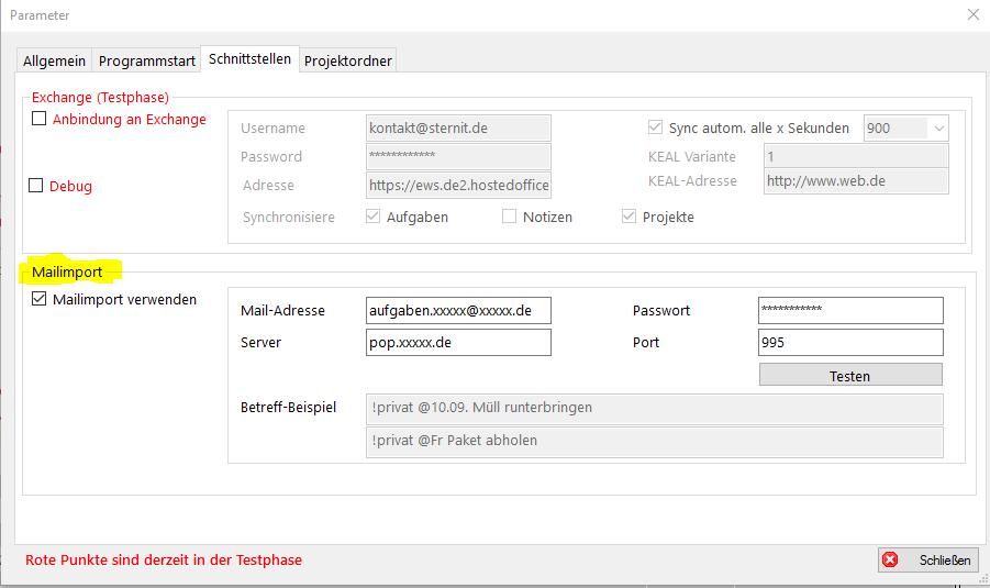 parameter_mailimport
